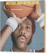 Buffalo Braves Bob Mcadoo Sports Illustrated Cover Wood Print