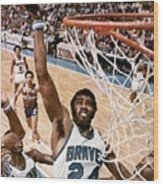 Buffalo Braves Garfield Heard, 1975 Nba Eastern Conference Sports Illustrated Cover Wood Print