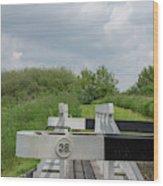 Caen Hill Lock 38 Wood Print