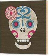 Calaca Wood Print