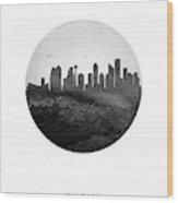 Calgary Skyline Caabca04 Wood Print