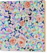 California Rose Garden Wood Print