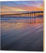 California Sunset Vii Wood Print