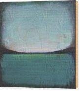 Calm Ocean 1 Wood Print