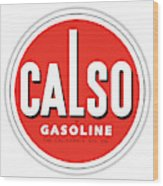 Calso Sign Wood Print