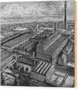 Camperdown Linen Works, Dundee, C1880 Wood Print