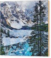 Canada, Alberta - 07 Wood Print