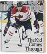 Canada Sidney Crosby, 2010 Winter Olympics Sports Illustrated Cover Wood Print