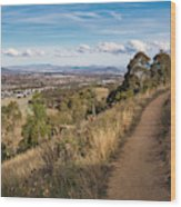 Canberra Centenary Trail - Australia Wood Print