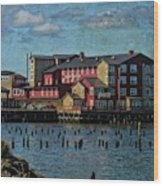 Cannery Pier Hotel Wood Print