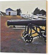 Cannon - Victoria Park Pei Wood Print