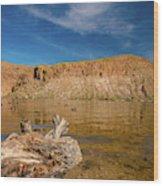 Canyon Lake Wood Print