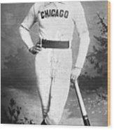 Cap Anson, Famed Baseball Player Wood Print