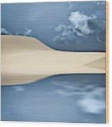 Cape Cod Reflections Wood Print