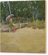 Cape Cod Weekend Wood Print