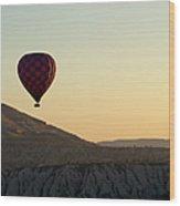Cappadocia Valley Wood Print