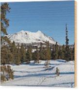 Carcross Desert Off South Klondike Highway Yukon Wood Print