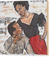 Carmen Jones - That's Love Wood Print