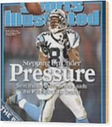 Carolina Panthers Steve Smith, 2006 Nfc Divisional Playoffs Sports Illustrated Cover Wood Print