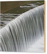 Carolina Water Splash Wood Print