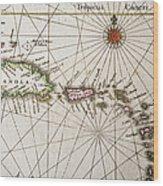 Carribean Islands Wood Print
