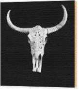 Carved Animal Skull  Wood Print
