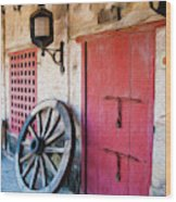 Castillo San Felipe de Barajas Fort I Wood Print