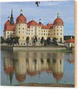 Castle Moritzburg  Wood Print