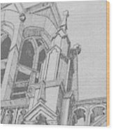 Cathedral Helena Montana Wood Print