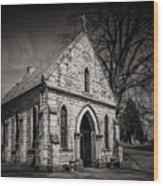 Cedar Hill Chapel Wood Print