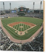 Celeveland Indians V Chicago White Sox Wood Print