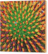 Centrifugal Wood Print