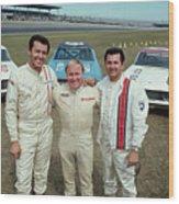 Champion Racers For The Daytona 500 Wood Print