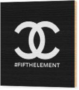 Chanel Fifth Element-2 Wood Print