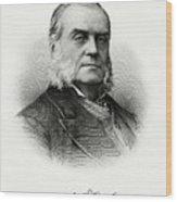 Charles J. Folger Wood Print