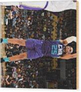 Charlotte Hornets V Los Angeles Lakers Wood Print