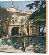 Chateau St. Jean Wood Print