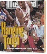 Chicago Bulls Michael Jordan, 1993 Nba Eastern Conference Sports Illustrated Cover Wood Print