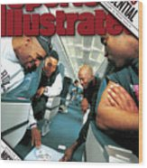 Chicago Confidential Behind The Scenes With Michael Jordan Sports Illustrated Cover Wood Print