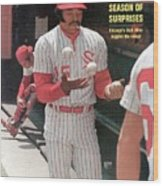 Chicago White Sox Dick Allen... Sports Illustrated Cover Wood Print