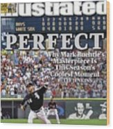 Chicago White Sox Mark Buehrle... Sports Illustrated Cover Wood Print