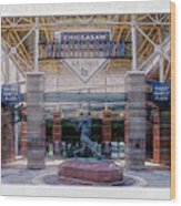 Chickasaw Ballpark - Bricktown - O K C Wood Print