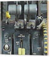 China Southern Md-82 Throttle Wood Print