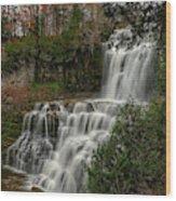 Chitennango Falls Wood Print