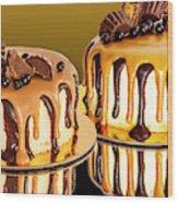 Chocolate Delights Wood Print