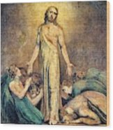 Christ Appearing To The Apostles After The Resurrection - Digital Remastered Edition Wood Print