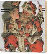 Christmas Eve - Digital Remastered Edition Wood Print
