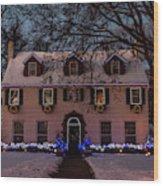 Christmas Lights Series #3 Wood Print