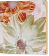 Chrysanthemum Creativity Wood Print
