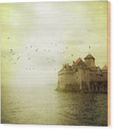 Château De Chillon Wood Print